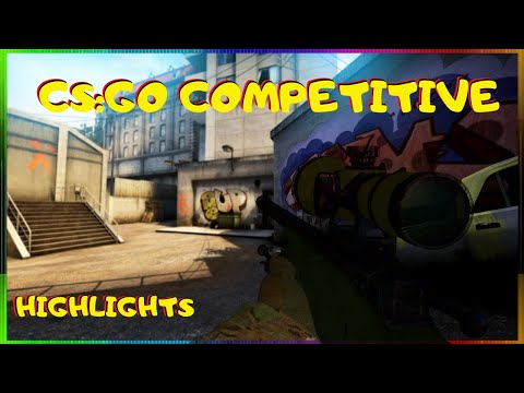 CS:GO Overpass Highlights (Competitive Game)  