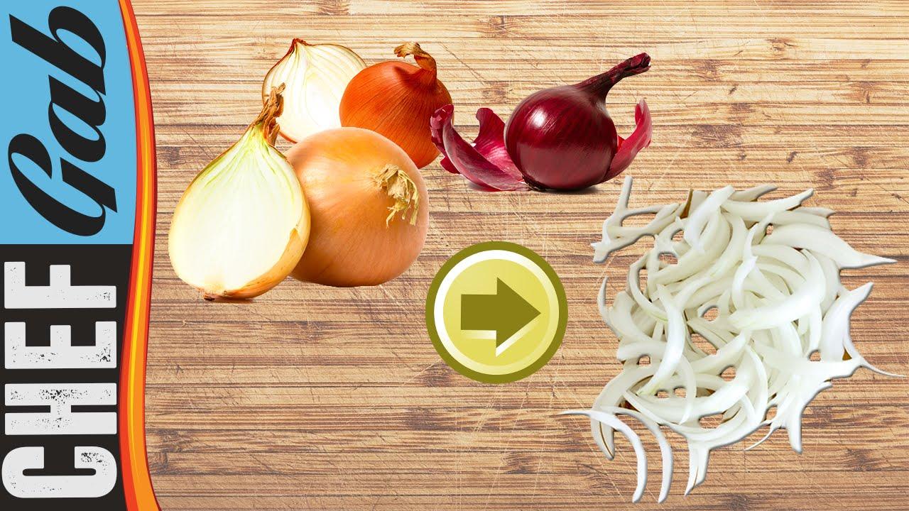 Come tagliare una cipolla a julienne , Chef Gab , TiCucinoPerLeFeste.com