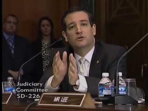 Sen. Cruz in Judiciary Committee Hearing on Guns