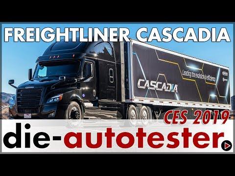 2019 CES Las Vegas: Daimler präsentiert den Freightliner Cascadia   LKW   Review   Deutsch