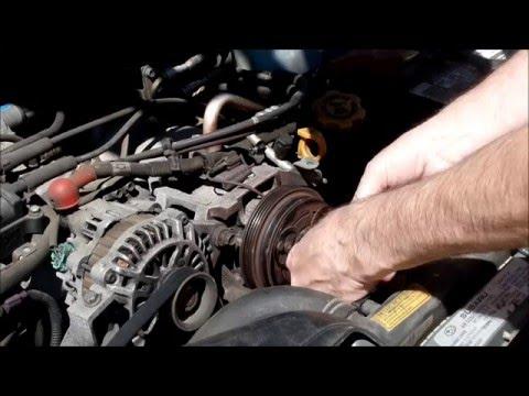 2004 Subaru Outback AC Compressor Clutch Replacement