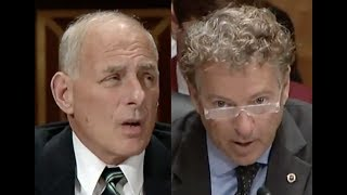 Rand Paul DESTROYS Trump Homeland Security Chief for Illegally Searching Phones