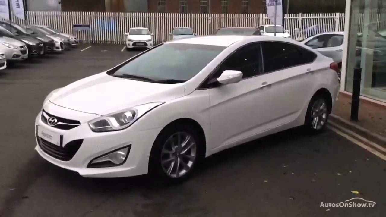 hyundai i40 crdi style white 2015 youtube. Black Bedroom Furniture Sets. Home Design Ideas