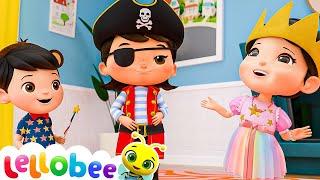 Dress Up Song | @Lellobee City Farm - Cartoons & Kids Songs | Lellobee
