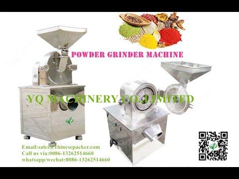 Automatic Herbs Crushing Grinder Mill Making Machine Tea Powder Grinding Equipment