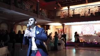 Армянская свадьба. Выход жениха и невесты