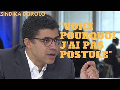 """SINDIKA DOKOLO:  """"LA RAISON POUR LAQUELLE JE N'AI PAS POSTULE A LA PRESIDENCE..."""""""
