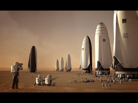 Spacex BFR Is Staring To Take Shape