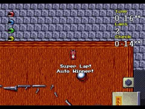 DOS - Micro Machines 2: Turbo Tournament