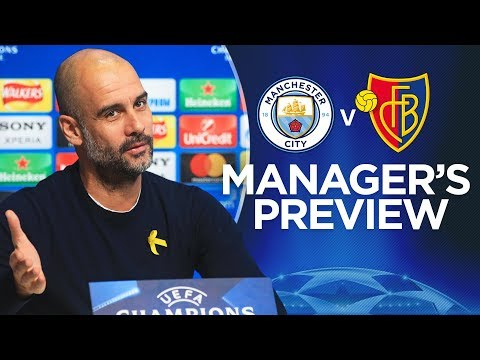 WE ARE STILL ON A JOURNEY | Champions League Press Conference | City v Basel