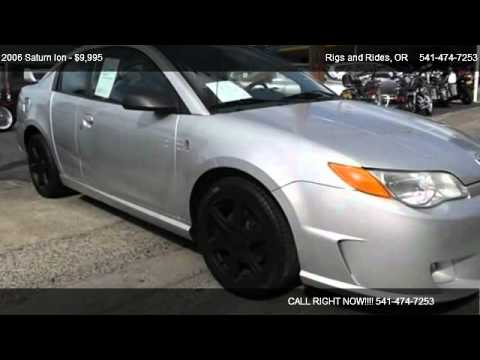 2006 Saturn Ion Red Line Quad Coupe 4d For Sale In Grants Pass Or