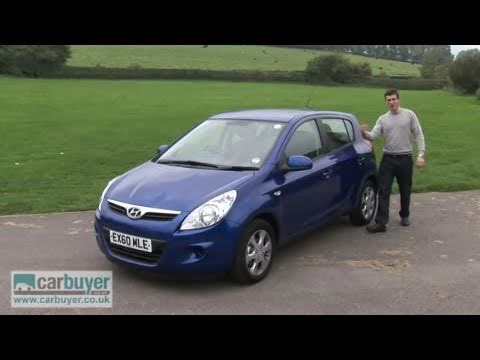 Hyundai i20 hatchback 2009 2012 review CarBuyer