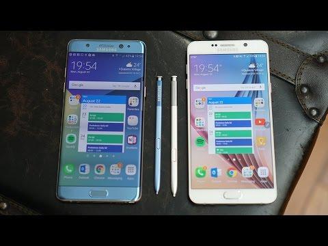 Samsung Galaxy Note 7 vs Galaxy Note 5: Yesterday vs Tomorrow