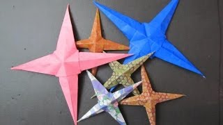 Make An Origami Star