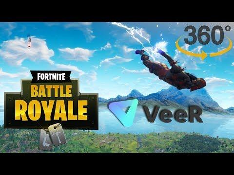 Fortnite E3 Battle 360° HUD VeeR VR W/ Ninja & MarshMello
