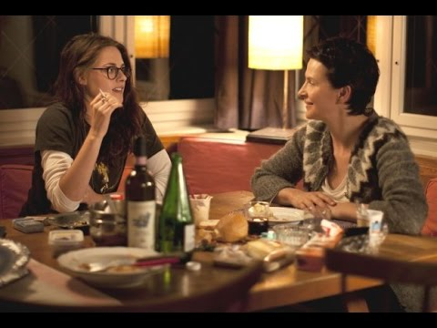 Juliette Binoche &  Kristen Stewart on CLOUDS OF SILS MARIA