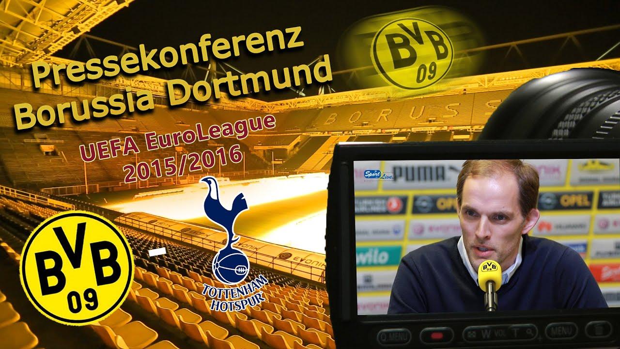 Borussia Dortmund - Tottenham Hotspur  3 : 0 - Pk mit Thomas Tuchel