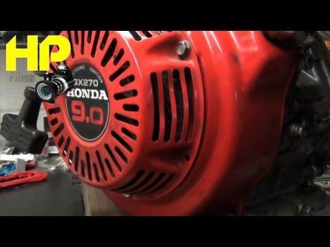 9HP Honda Governor Removal