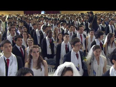 Unification Church Mass Wedding: From Strangers to 'I Do'