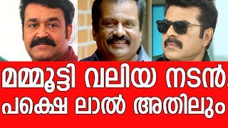 Venu Nagavally's that words about Mohanlal and Mammootty