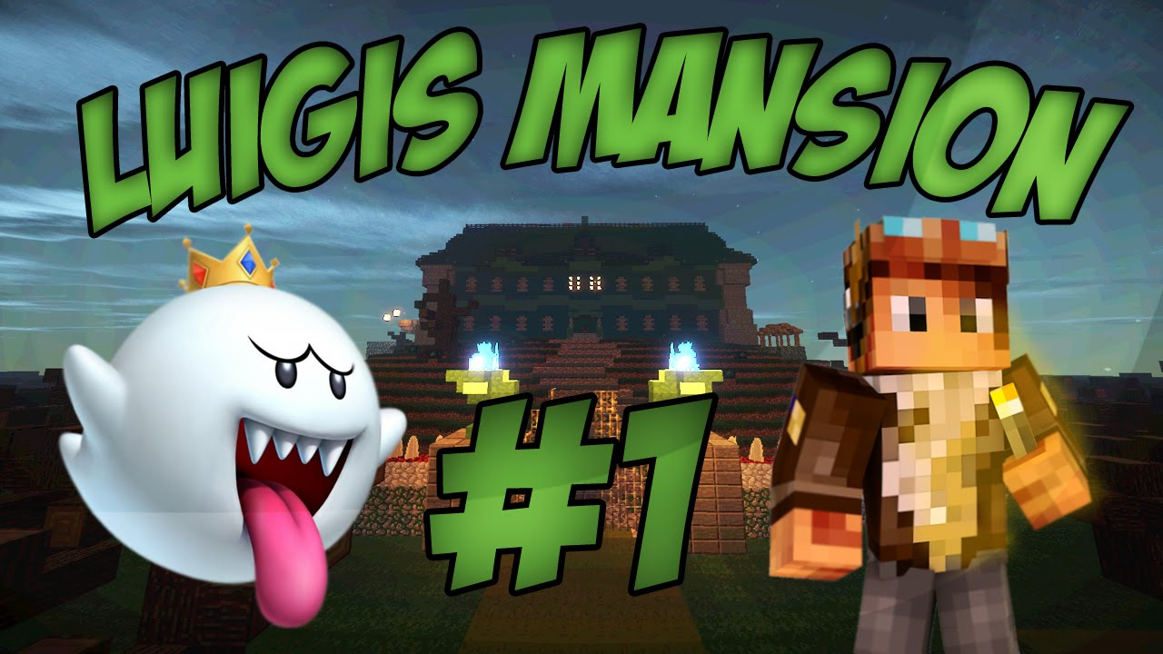 minecraft luigis mansion ep 1 chasse au fant me youtube. Black Bedroom Furniture Sets. Home Design Ideas