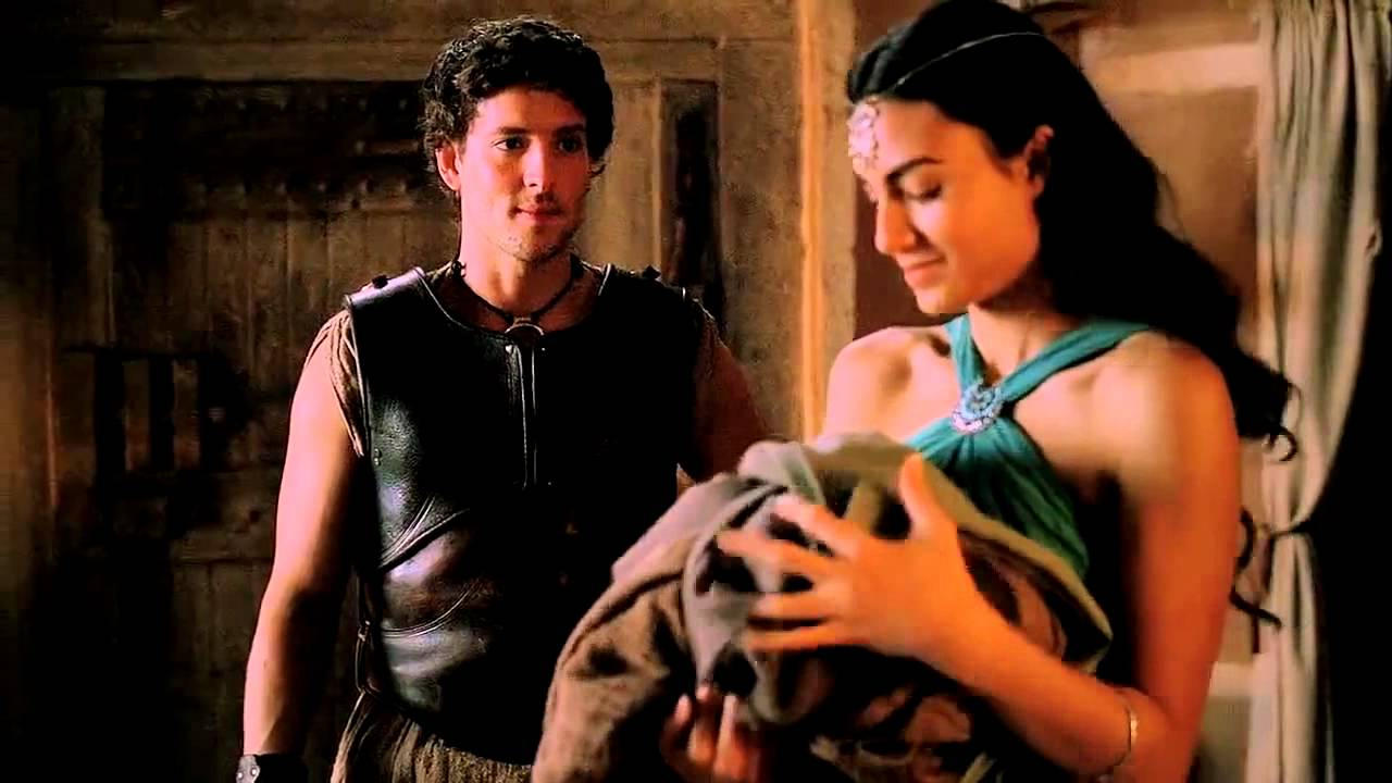 Download Jason & Ariadne   I would gladly risk my life for you their story   Atlantis Season 1