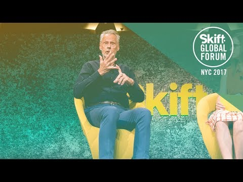 Lindblad Expeditions CEO Sven-Olof Lindblad at Skift Global Forum 2017