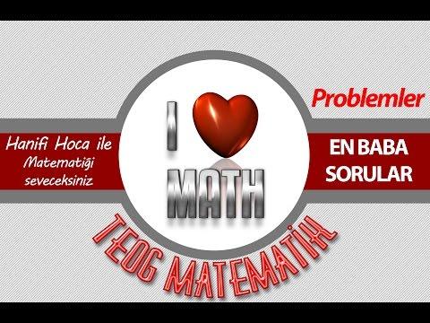TEOG Problemler Enn BABA Sorular | 8. Sınıf Matematik