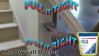 How to Second Coat Drywall with Easy Sand 5 after 20 Patching Series Pt. 5