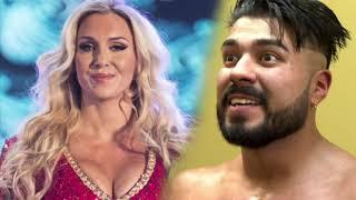 Konnan on: Charlotte Flair dating Andrade Cien Almas