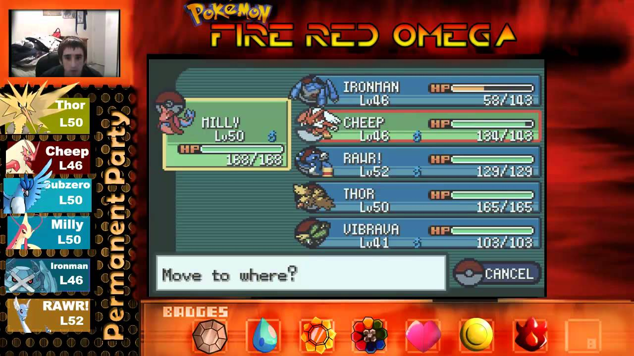 Pokemon fire red omega let s play pt 33 one island ember spa rock