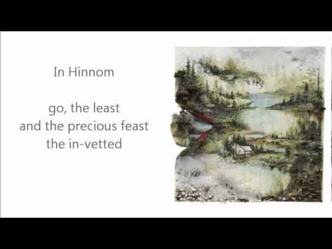 Bon Iver- Hinnom, TX  w/Lyrics