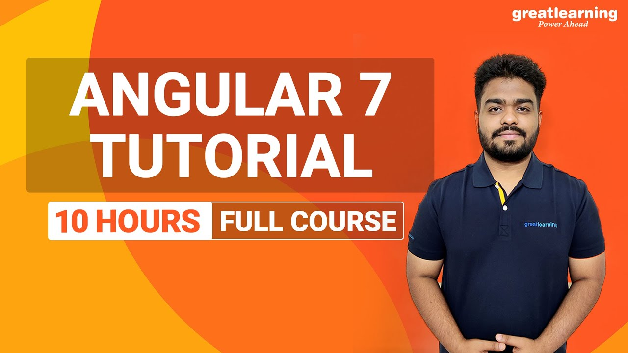 Master Angular 7 in 10 hours | Angular 7 Tutorials | Angular 7 Full Course