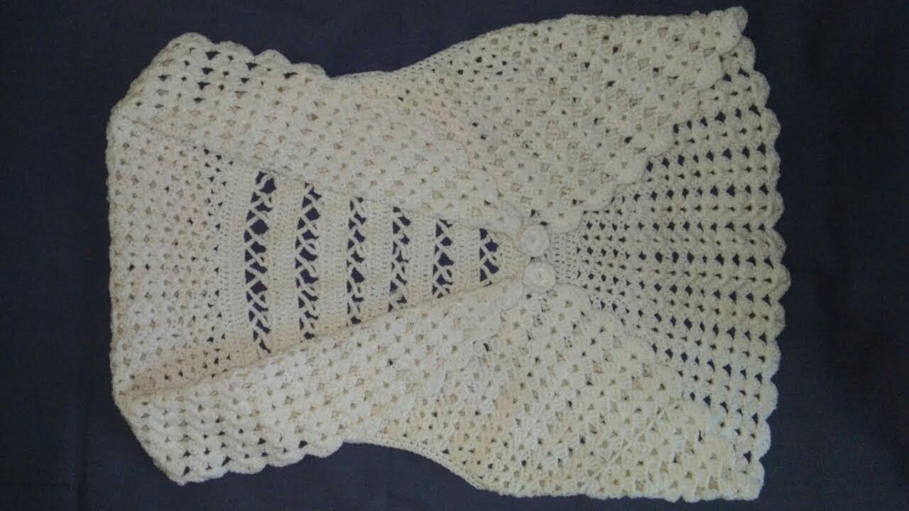 7a413fce1b Crochet Shrug Crochet Bolero Jacket. Smart knitting