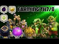 TH7/8 Farming | Goblin Attack Strategy | COC Gaming Land
