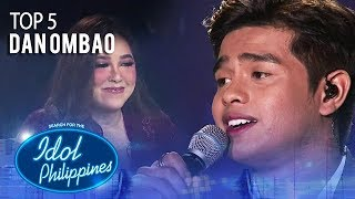 "Dan Ombao sings ""The Last Time"" 