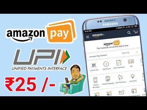 Amazon pay UPI Offer And get ₹25 Cashback || paytm vs Amazon UPI || M Digital India Mp3
