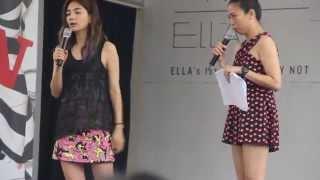 ELLA 陈嘉桦 WHY NOT 新加坡签唱会 02 TALKING PART 2 老公的尖叫声比较大