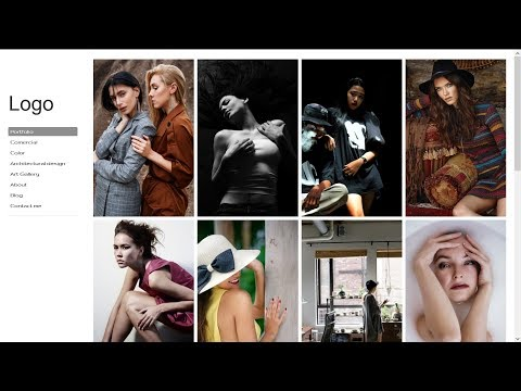 How to make photography websites, best website template for photography