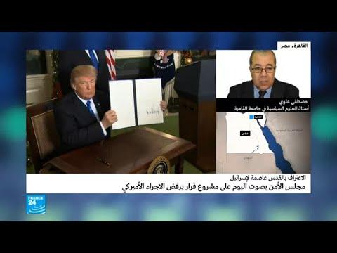 علام يقوم نص مشروع القرار المصري في مجلس الأمن؟  - نشر قبل 10 دقيقة