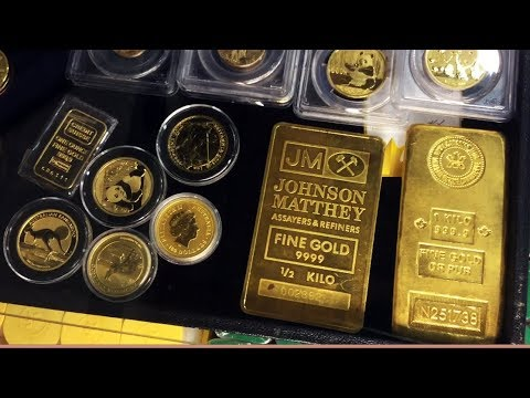 Hundreds Of Ounces Of Gold & Silver At The Coin Show