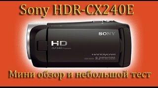 обзор и не большой тест  видеокамеры Sony HDR CX405