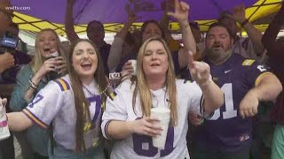 Tiger tailgaters are HYPED  ahead of the CFP National Championship