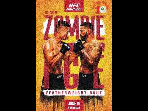 UFC Fight Night Live updates and results -- Chan Sung Jung vs ...