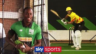 Jofra Archer vs Joe Root | In the nets at The Hundred