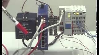 Демонстрация работы модульного ПЛК Fastwel I/O