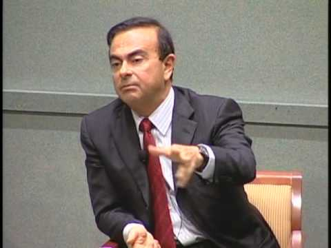 Carlos Ghosn of Nissan/Renault: Look Ahead, Dont Stand Still