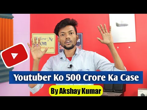 Youtuber Ko 500 Crore Ka Case By Akshay Kumar 😱
