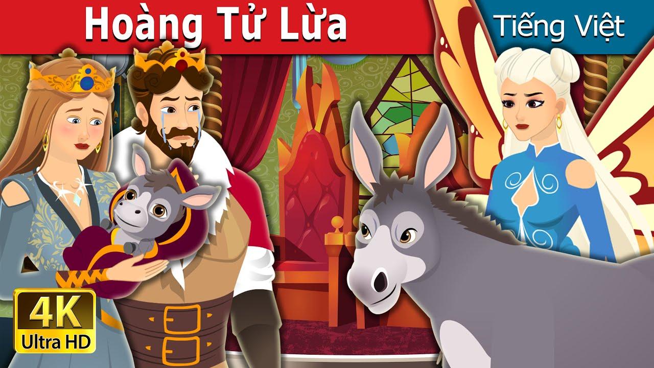 Hoàng Tử Lừa   The Donkey Prince in Vietnam   Truyện cổ tích việt nam