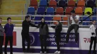 Rehearsal Gala - Rostelecom Cup 2012 (part 1)